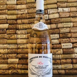 Vin rosé Paternel Cotes de Provence