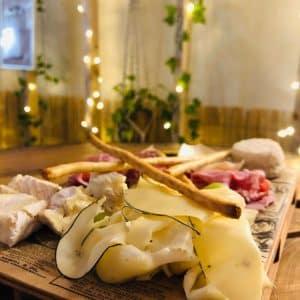 planches truffé Charcuteries & fromages à la truffe