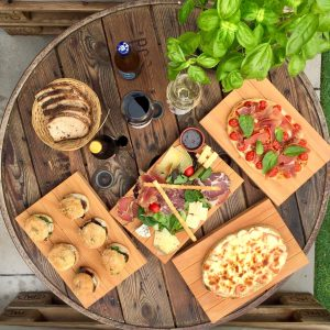 menu tapas vin bruschetta charcuterie fromage bar à tapas