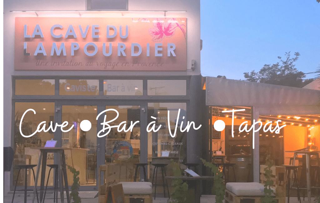 Devanture Caviste, Bar à Vin Tapas Carry Sausset